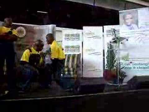 Alaska at Litter-free Guateng campaign, Johannesburg