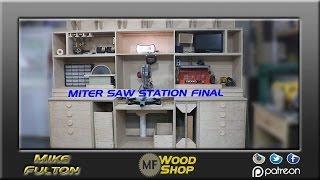 Miter Saw Station Final