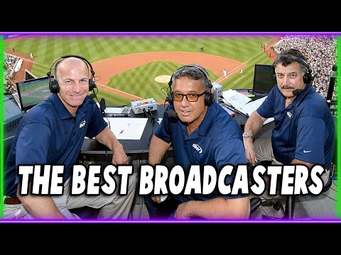 The Best Broadcasters In Baseball