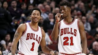 Derrick Rose & Jimmy Butler (Mix) Brothers in Arms