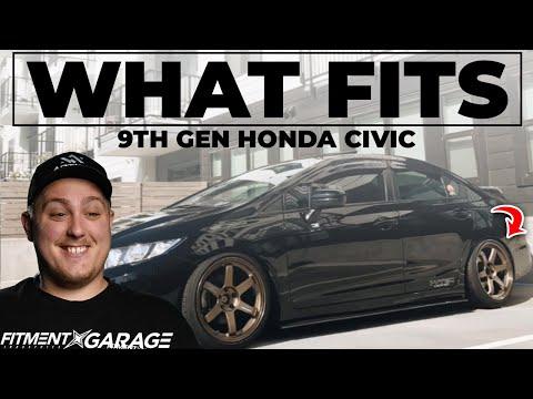 What Wheels Fit a 9th Gen Honda Civic