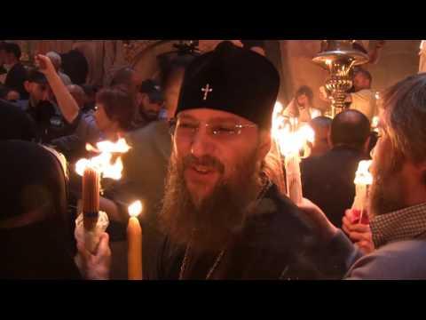 Как зажигали Благодатный огонь для Украины - Митрополит Антоний