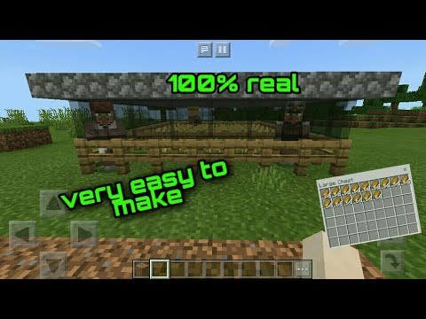 How To Make A Automatic Bread Farm In Minecraft