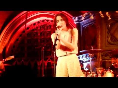 Andrea Corr singing Pale Blue Eyes at Union Chapel,Islington 2nd June 2011.