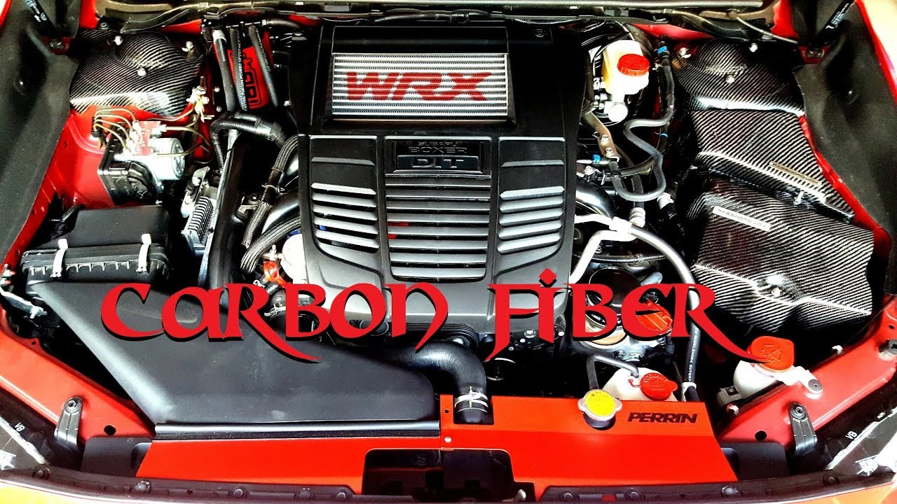2017 wrx carbon fiber engine bay youtube. Black Bedroom Furniture Sets. Home Design Ideas