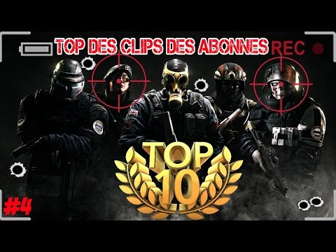 TOP 10 - Une 5 feed killcam ! Rainbow six siege ps4 fr !