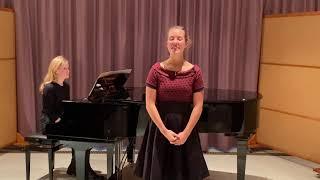 """""""Alleluja"""" aus Exsultate, jubilate KV 165 von W.A.Mozart Sop.Sarah Hooß"""