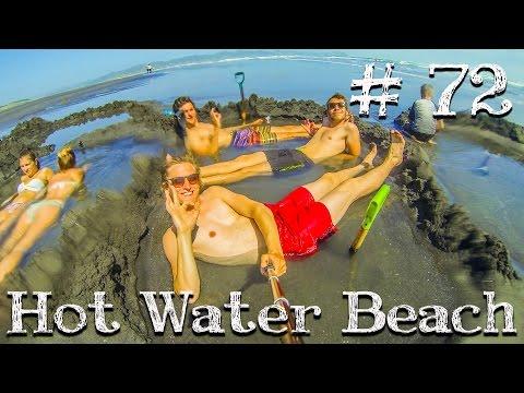 Hot Water Beach Neuseeland / Weltreise Vlog / Work and Travel #72