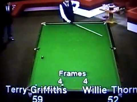 Willie Thorne v Terry Griffiths 1982 World Championship