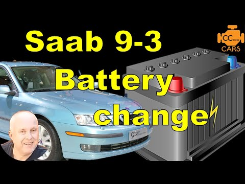 How to Change Battery Saab 9-3 | Easy DIY