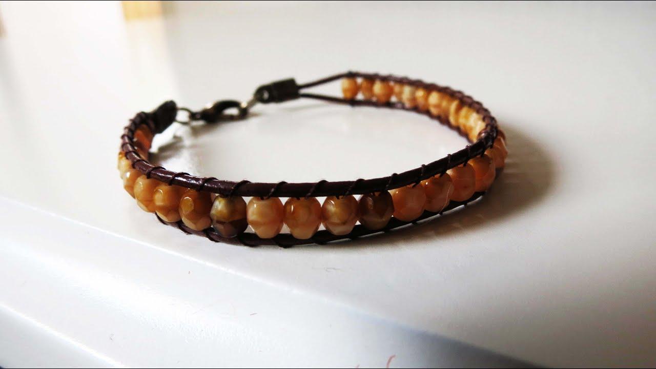 Wrap bracelet perlenarmband selber machen youtube - Perlenarmband basteln ...