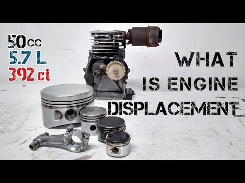 Engine Displacement - Explained