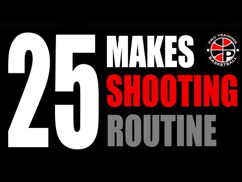 Daily Shooting Routine | 25 Make Scoring Challenge | Pro Training Basketball