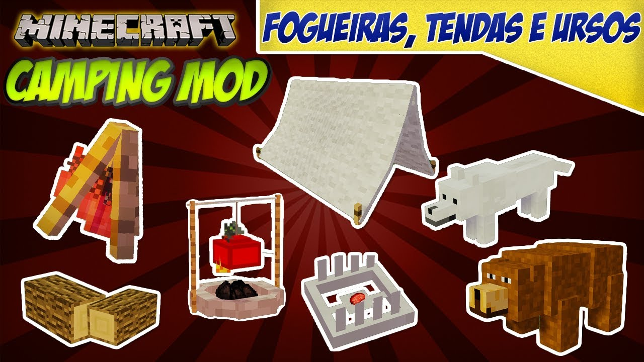 Minecraft Kitchen Mod 1.12.2 The Camping Mod 1 12 2 1 11 2 1 10 2 1 7 10 Tutorial Minecraft Mod 48
