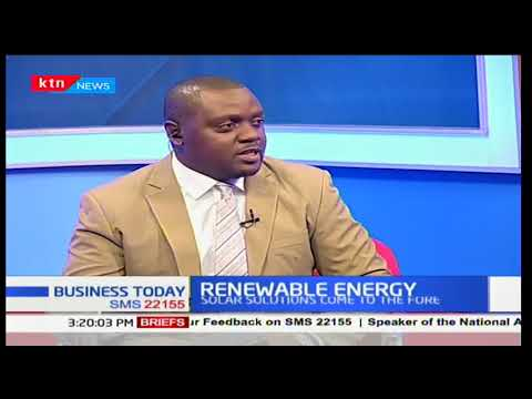 Business Today - 14th December 2017 - Discussion on Renewabl