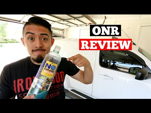 Optimum No Rinse (ONR) Review- Auto Detailing Product Review