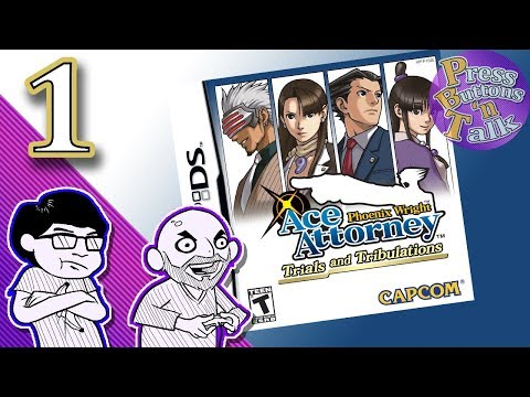 Phoenix Wright: Trials and Tribulations, Ep. 1: My Sweet P Boy - Press Buttons 'n Talk