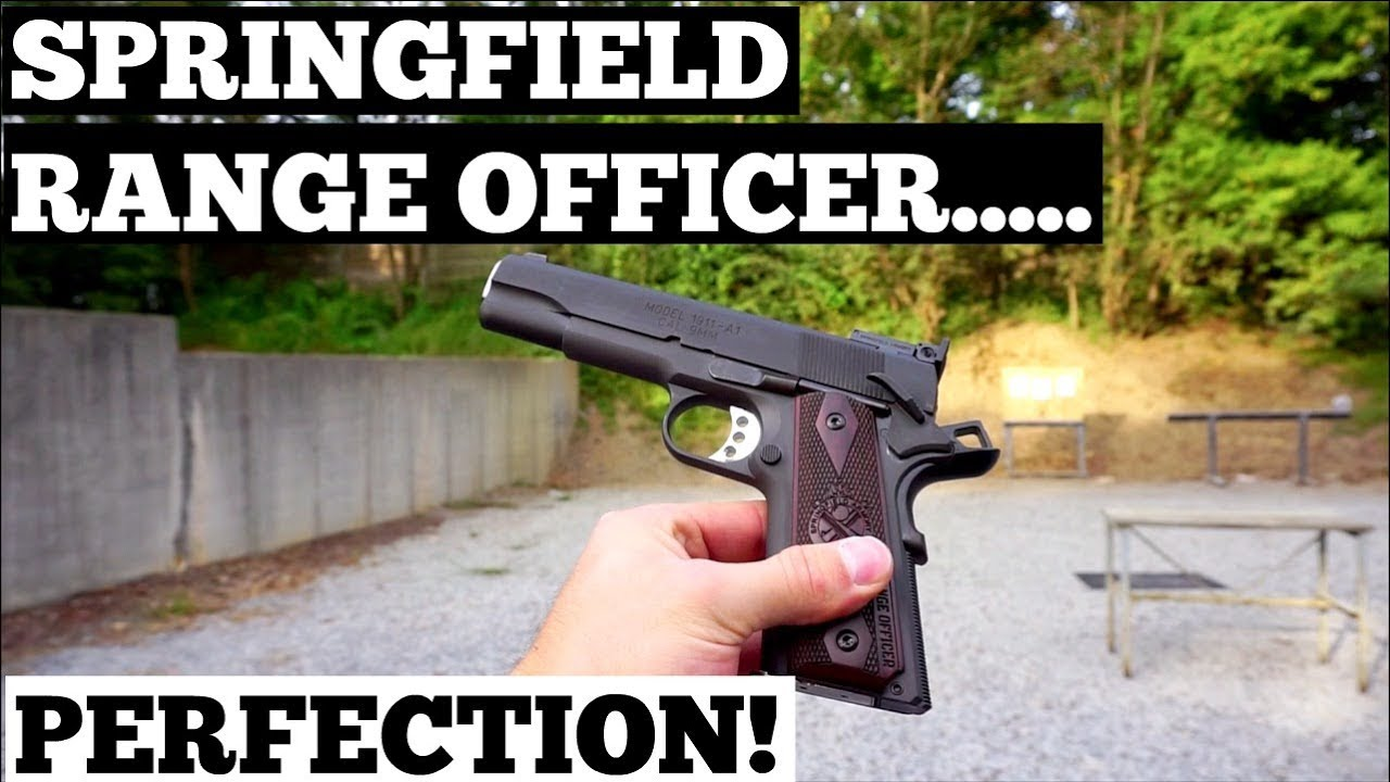 Springfield 1911 Range Officer 9mm (First Impressions)!!!