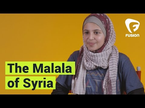 The 'Malala of Syria' Started a Girls Education Campaign