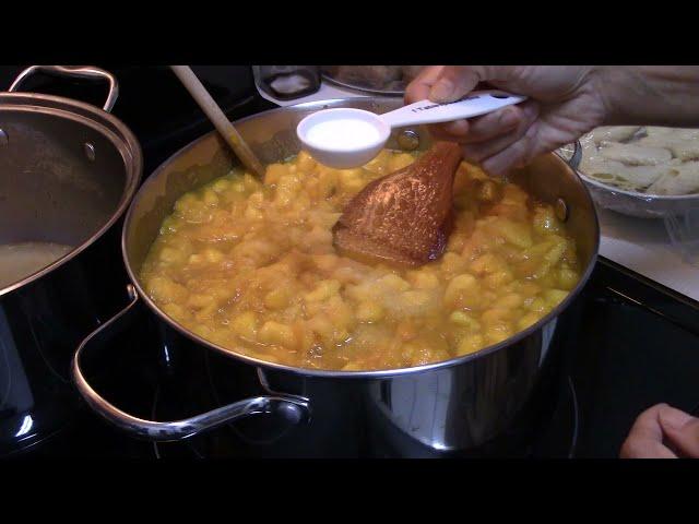 Mango - peel, dice, cut, make jam, mango jam by AllchitHow