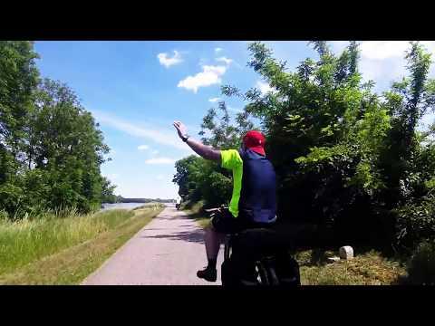 River Danube Cycle dancing
