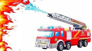 ПОЖАРНЫЕ МАШИНКИ. Много машинок для детей. СКОРАЯ ПОМОЩЬ И ПОЛИЦЕЙСКАЯ МАШИНЫ. FIRE ENGINE for Kids(Пожарные машинки для детей и много других интересных машинок в этом видео обязательно понравятся детям...., 2016-09-30T05:00:01.000Z)