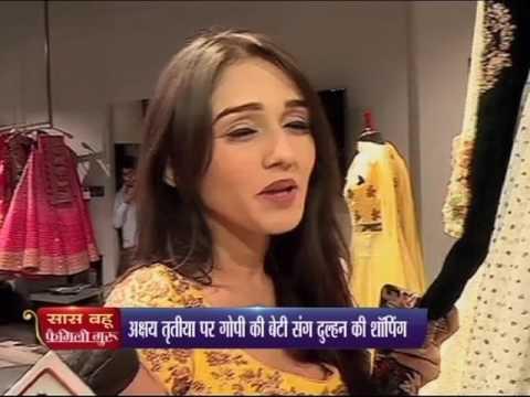 Renowned TV Celebrity Tanya Sharma at Kalki Fashion, Mumbai