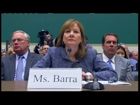 Highlights from Mary Barra's testimony to Congress
