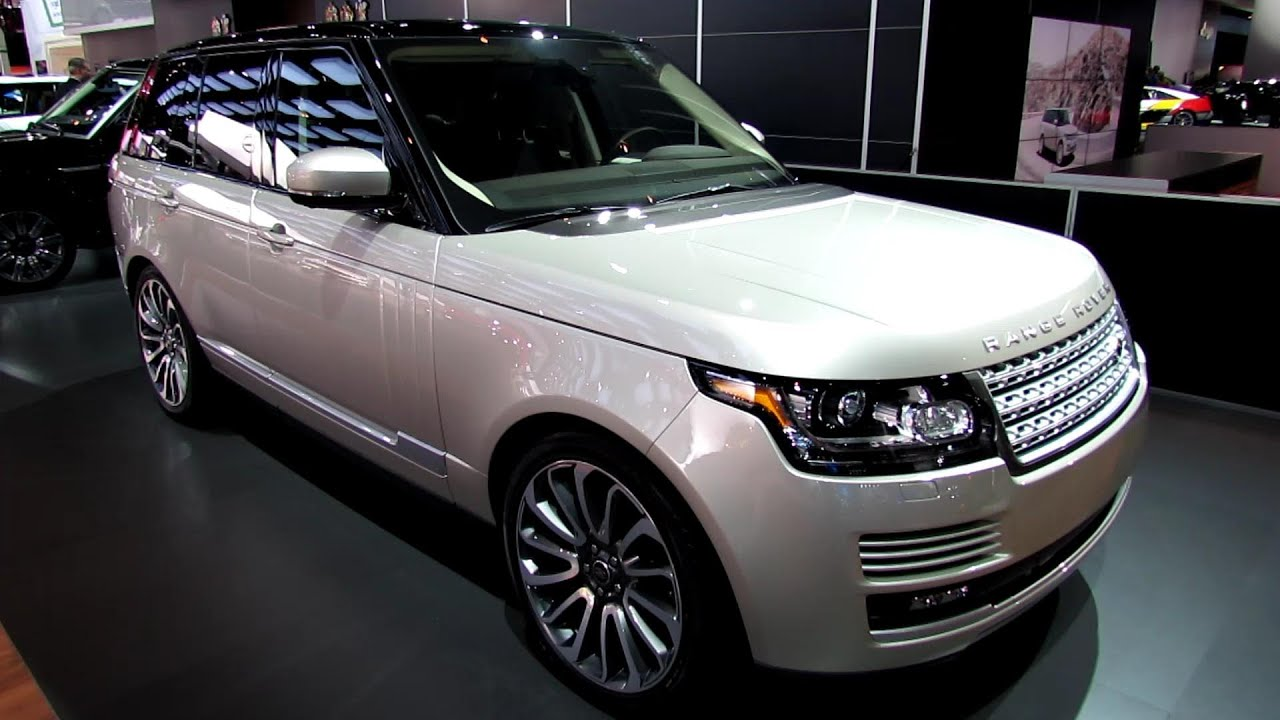 Range Rover Interior >> 2013 Range Rover HSE - Exterior and Interior Walkaround ...