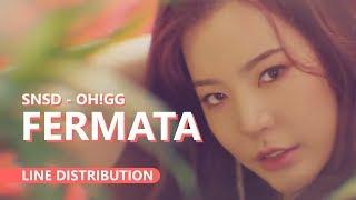 GIRLS' GENERATION-Oh!GG 소녀시대-Oh!GG - FERMATA | Line Distribution