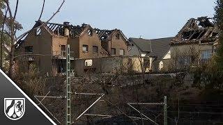 In Siegburg ist die Brandursache noch unklar