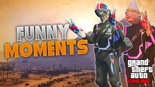 GTA 5 Funny Moments Compilation #1 (GTA 5 Funny Fails - Best Moments)