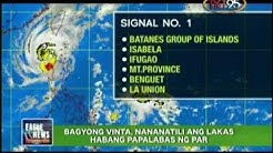 Eagle News Update - Bagyong Vinta, nananatili ang lakas habang papalabas ng PAR