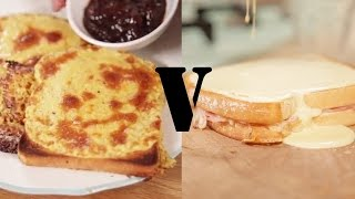 Cheese On Toast: Welsh Rarebit Vs Croque Monsieur | The Craft Beer Channel