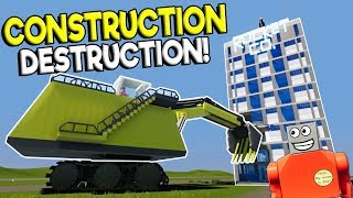 BIGGEST LEGO EXCAVATOR TAKES OUT LEGO CITY! - Brick Rigs Gameplay - Lego Construction Roleplay
