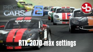 Project Cars 2 Career on RTX 2070 max settings 1080p 60fps
