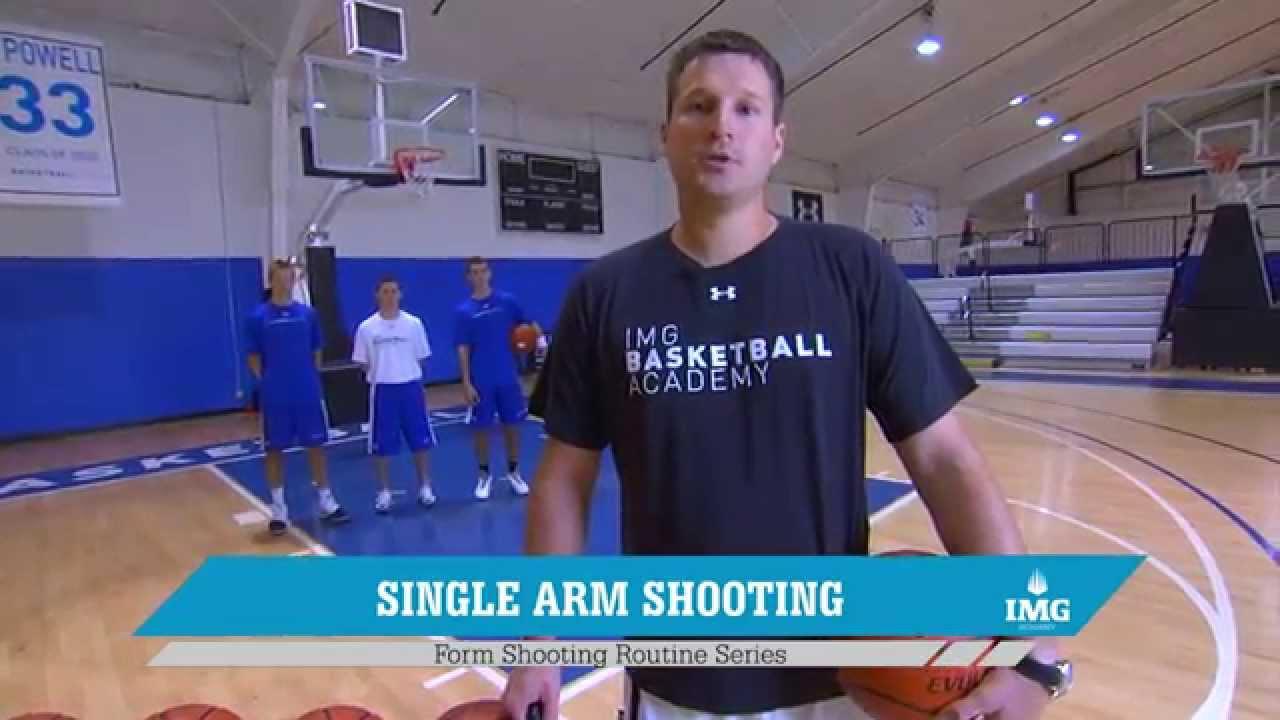 Basketball Shooting Drills - Form Shooting Routine Series by IMG ...