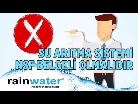 NSF Water Quality Belgesi - Rainwater Su Arıtma Cihazı
