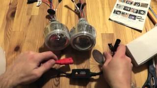 Посылка с AliExpress: G5 Линзы H4 БИ-ксенон PJT-05 и LED-лента SMD 5050 RGB Waterproof