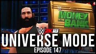 WWE 2K18 | Universe Mode - 'MITB BRIEFCASE ON THE LINE!' | #147