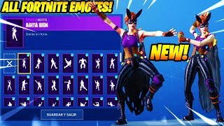"*NEW* ""Bunnymoon"" SKIN SHOWCASE WITH +100 FORTNITE DANCES & EMOTES..!!"