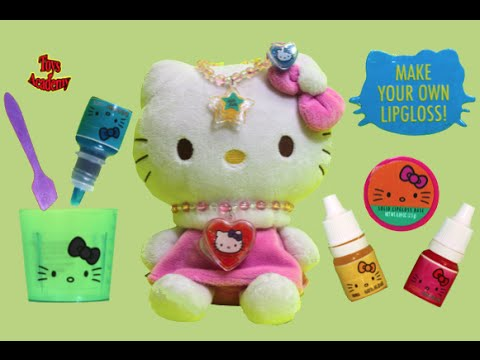 Hello Kitty Lipgloss Set Do It Yourself Kids Fun Craft | Toys Academy