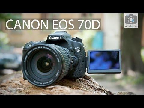 Canon EOS 70D - Обзор Зеркальной Фотокамеры для Продвинутых Энтузиастов
