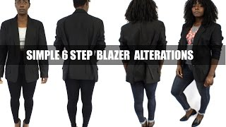 6 Easy Steps to a Blazer Alterations| BEAUTYCUTRIG