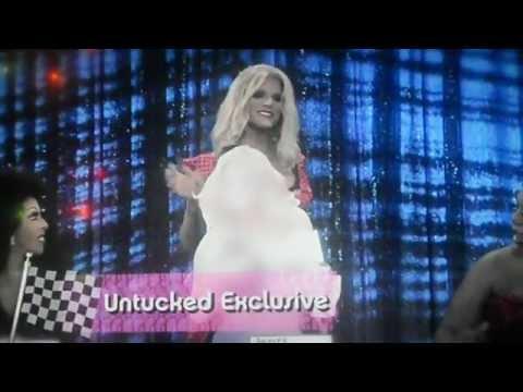 Rupaul's Drag Race Season 4:Snatch Game Deleted Scene (Untucked Exclusive)
