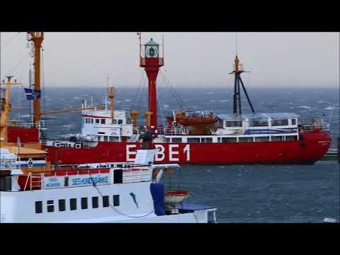 """Sturmtief """"Herwart"""" zieht über Cuxhaven hinweg"""