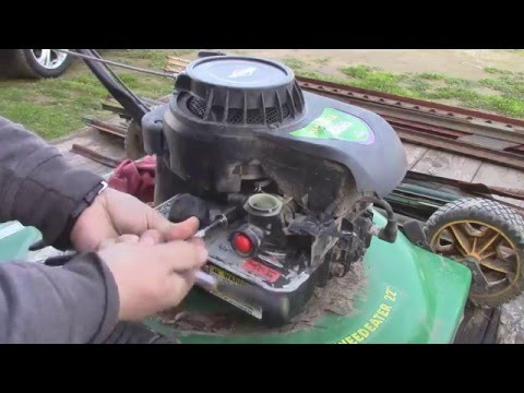 Reviving a Free Weedeater Mower