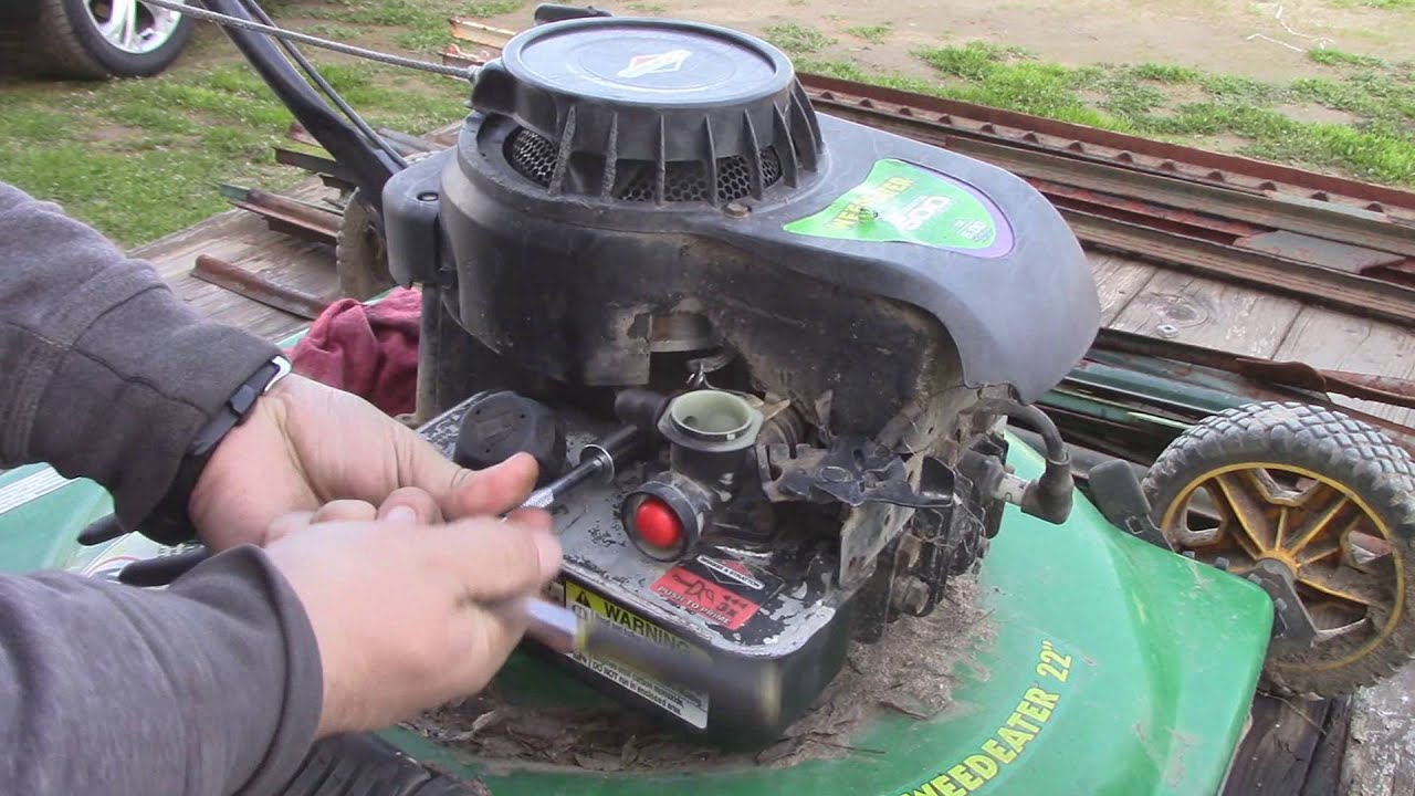 Reviving a Free Weedeater Mower on