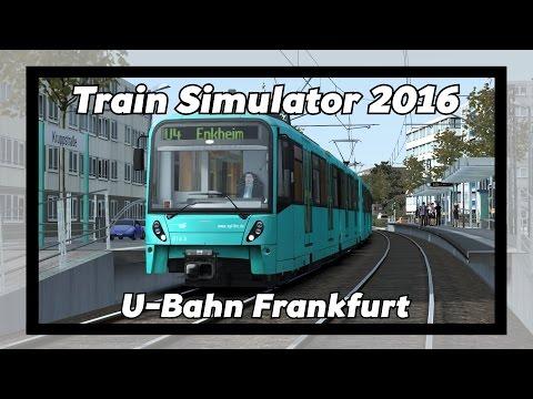 Train Simulator 2016: Driving on the U-Bahn in Frankfurt!