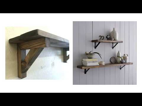 Wondrous Diy Wood Shelf Brackets For Best Room